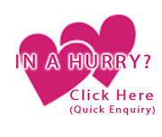 in a hurry enquiry link